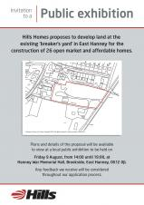 Proposed developments at Davies's Yard