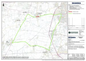 Road Closure A415 Marcham 8-10 November 2019