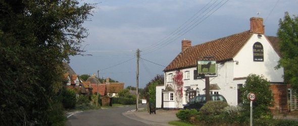 Image: The Black Horse, East Hanney
